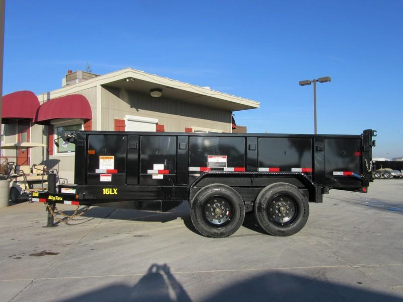 New 2018 Big Tex 16LX-14 7x14 16K GVW Dump Trailer Vin 99648