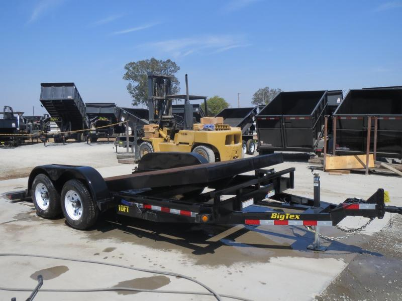 """New 2018 Big Tex 10FT-16 80""""x16' 10K GVW Tilt Equipment Trailer Vin:99603"""