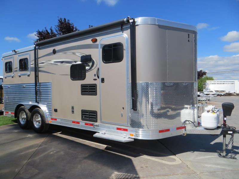New 2017 Lakota Charger 2H BP LQ Horse Trailer VIN00389