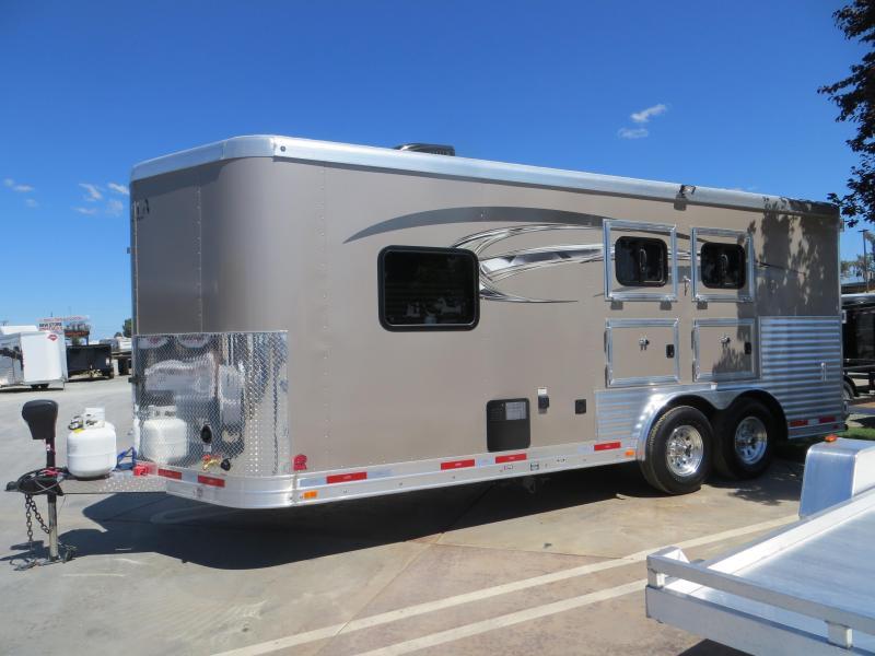 New 2017 Lakota Charger 2H BP LQ Horse Trailer VIN00389