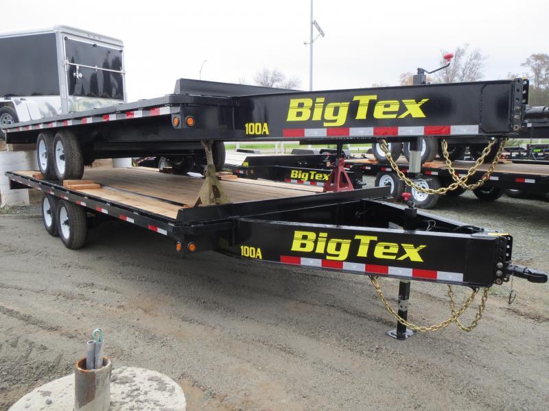 NEW 2017 Big Tex 10OA-20 Flatbed Trailer 8.5x20 VIN41808