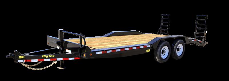 2017 Big Tex 14DF-20 Equipment Trailer VIN:33046