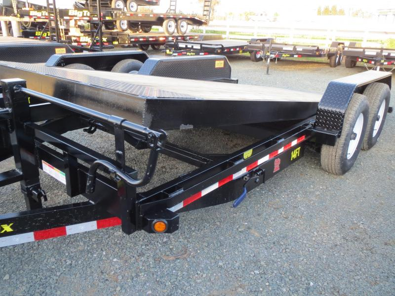 New 2018 Big Tex Trailers 14FT-18 Equipment Trailer 7x18 Vin 81630