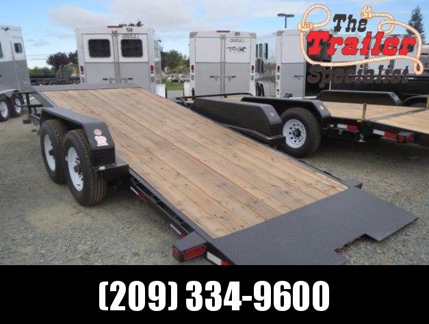 New 2018 Big Tex 14FT-18 Tilt Equipment Trailer 7x18 Vin 44877