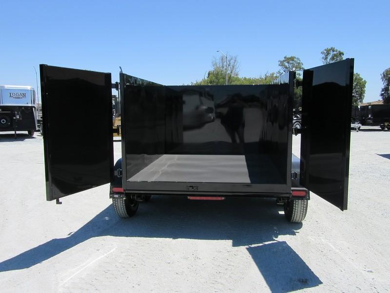 New 2018 Five Star DT294 D10 6x8 10K 4' sides Dump Trailer VIN32570