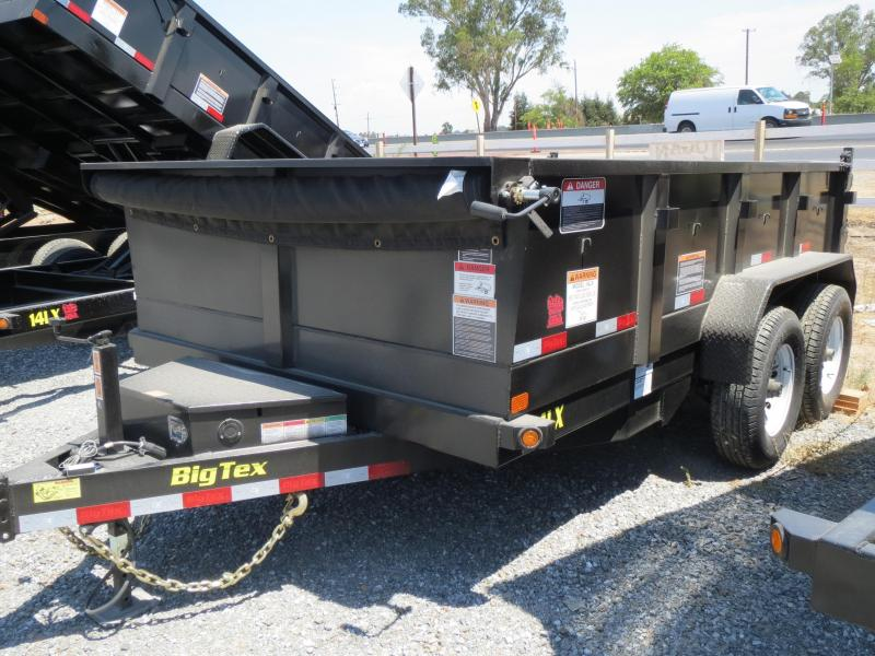 New 2018 Big Tex Trailers 14LX-12 7x12 14K GVW Dump Trailer Vin:99900