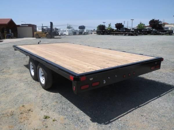 2017 Big Tex 70OA-16 8.5x16 Deck Over Utility Trailer VIN24083