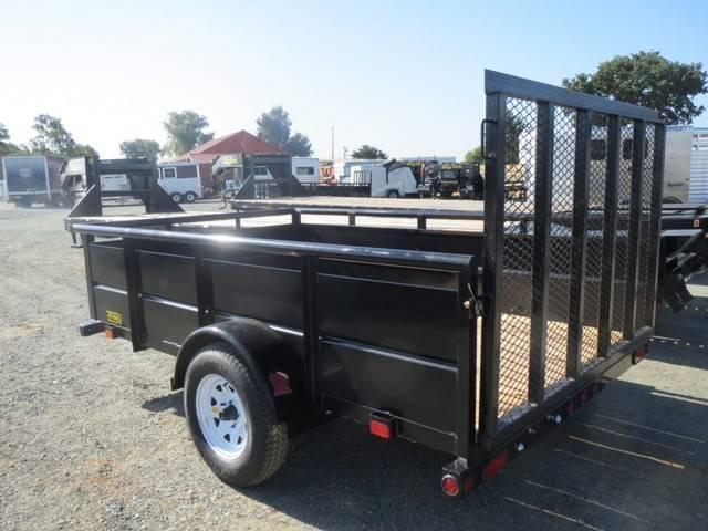New 2018 Big Tex 35SV 6.5x12 Utility Trailer Vin 06878