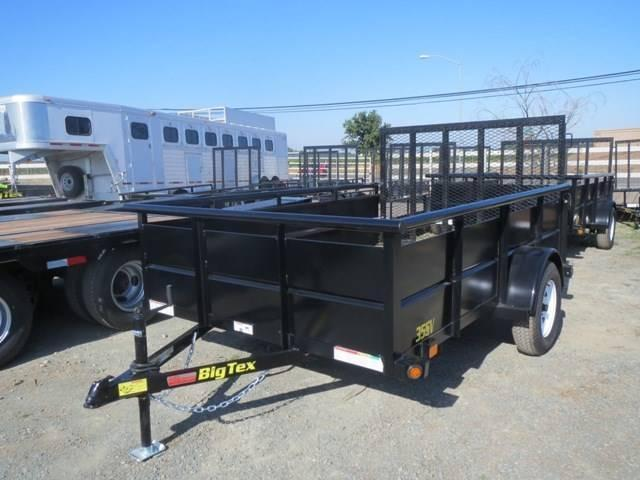 New 2018 Big Tex 35SV 6.5x12 Utility Trailer Vin 81640