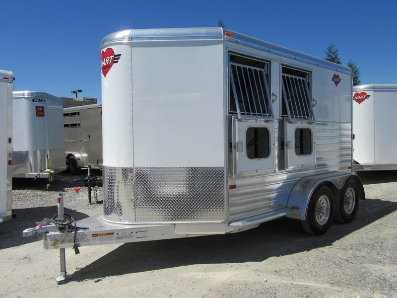 New 2017 Hart MVP 2H BP Horse Trailer VIN 51145