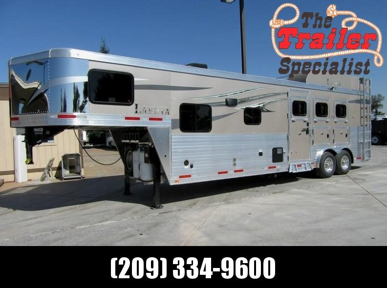 New 2018 Lakota Charger 3H C8311 LQ Horse Trailer Vin 01236