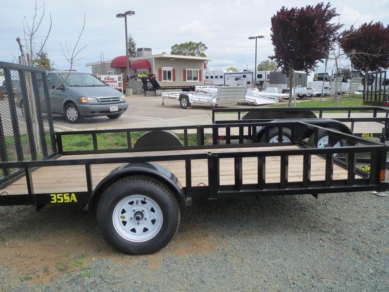 New 2017 Big Tex 35SA-12RSX 6.5x12 ATV Trailer Vin 76638