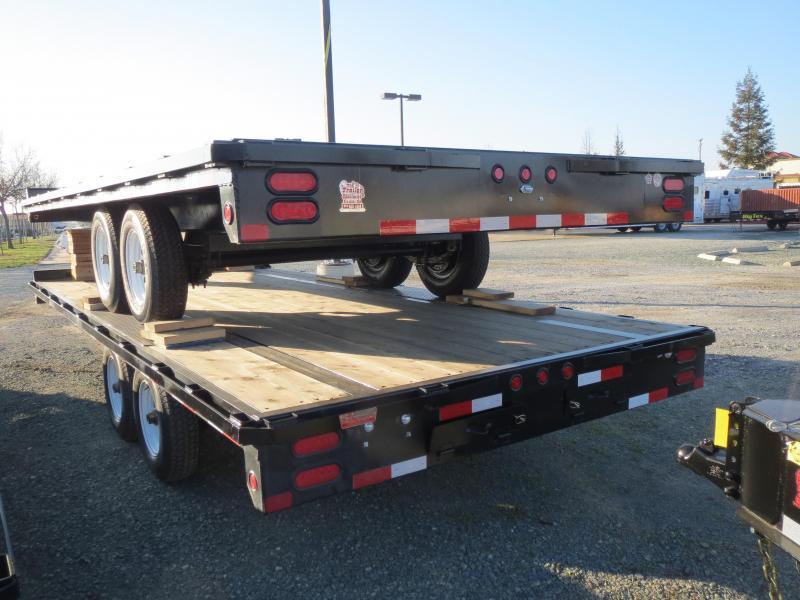 New 2017 Big Tex 10OA-18 Flatbed Trailer 8.5x18 VIn41830