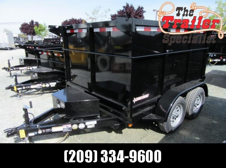 New 2018 Five Star DT293 7k GVW 6x8 Dump Trailer Vin 32264