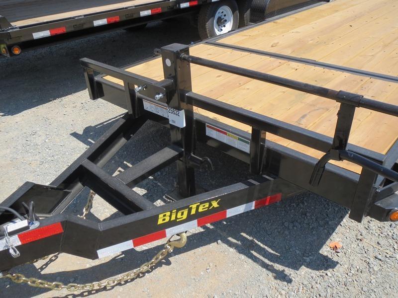 2017 Big Tex 14TL-20 7x20 14K GVW Equipment Trailer VIN:70052