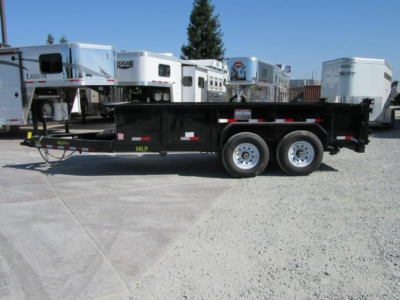 New 2017 Big Tex 14LP-14 7x14 14K Low profile Dump Trailer Vin44350
