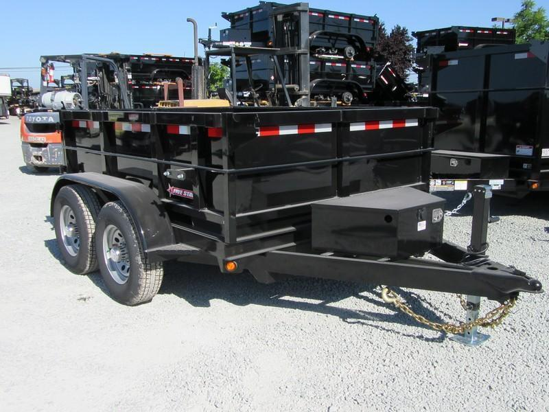 New 2018 Five Star DT287 10K Dump Trailer 6X8 VIN32321