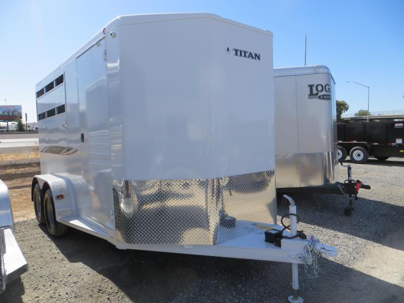 New 2016 Titan Avalanche II 2H BP Horse Trailer VIN75389