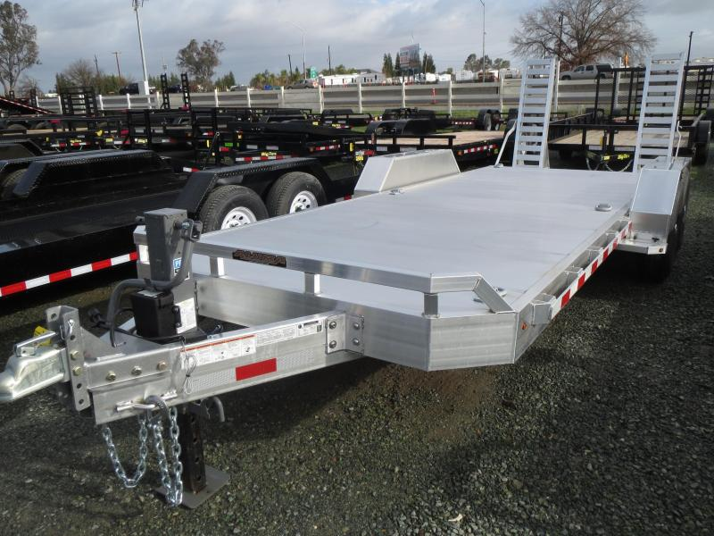"2016 Aluma TR-8220 79""x20.5' Equipment Trailer  VIN 40110"