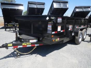 New 2018 Big Tex 14LX-16 Dump Trailer 7x16 14k VIN87749