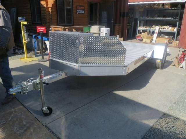 NEW 2017 Aluma UT14 71.5x14' aluminum ATV Trailer VIN60709