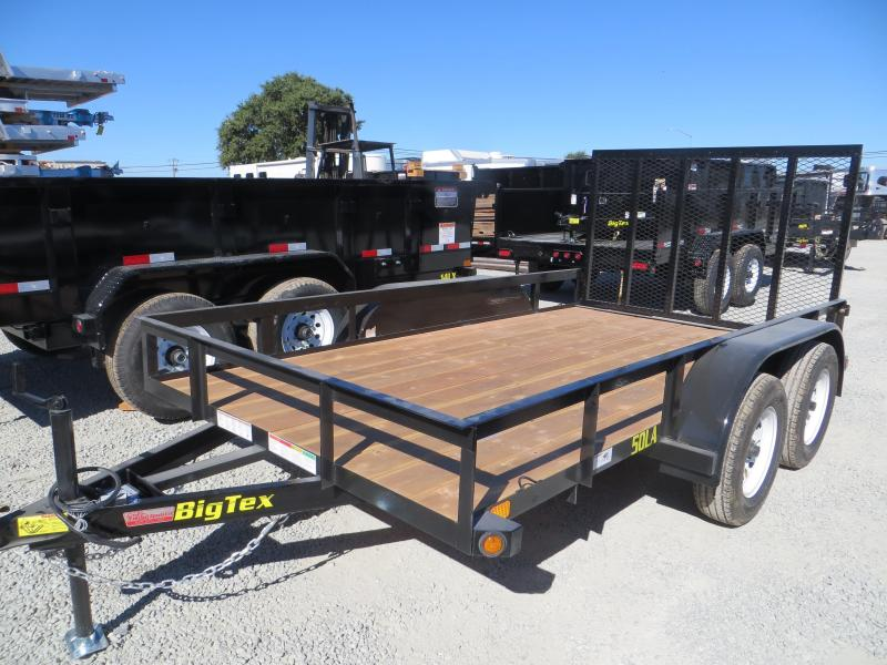 New 2018 Big Tex 50LA-12-4RG Utility Trailer 6.5x12 5k GVW VIN:93066