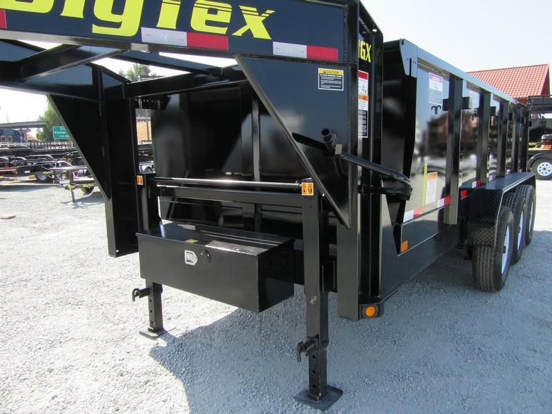 "New 2017 Big Tex 21GX-16P3 83""x16 21000 GVW Dump Trailer Vin72563"