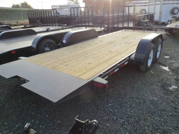 "New 2018 Big Tex 10FT-18 80""x18' Car Hauler or Equipment Trailer VIN:99605"