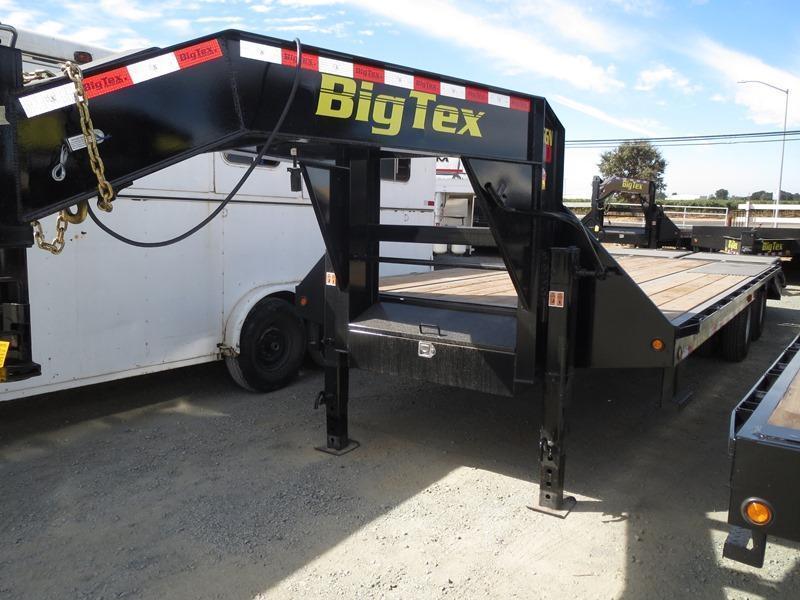 New 2017 Big Tex 25GN-20+5MR 25K GVW 25' Flatbed Trailer Vin87368
