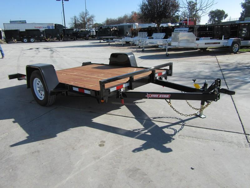 New 2018 Five Star UT270 3K 6.5x10 Tilt Utility Trailer Vin 32411