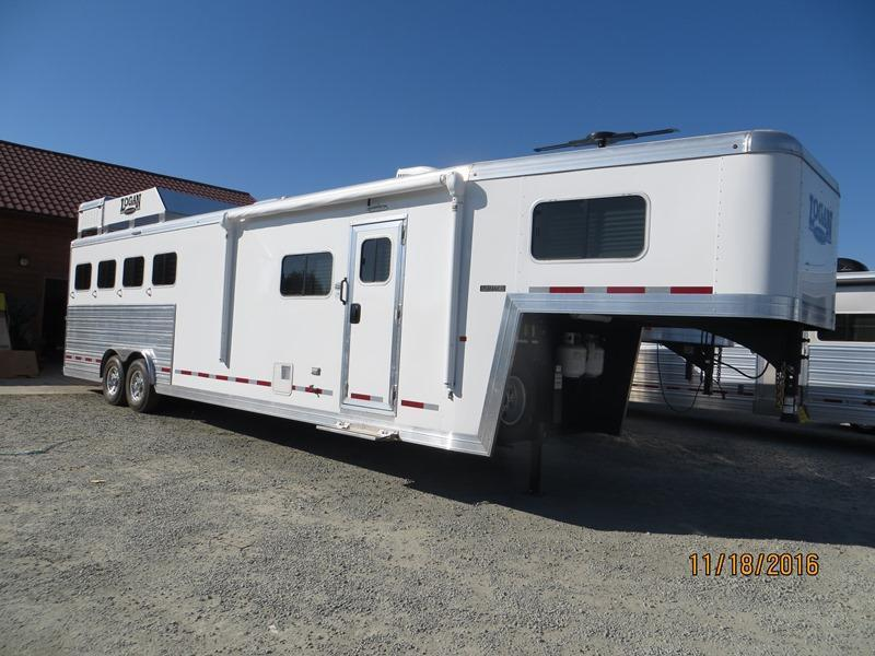 2017 Logan Coach 4H 812 Limited LQ Horse Trailer Vin:04904
