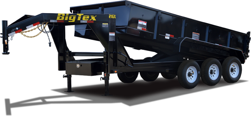 "NEW 2017 Big Tex 21GX-16 83""x16' Dump Trailer Vin53671"