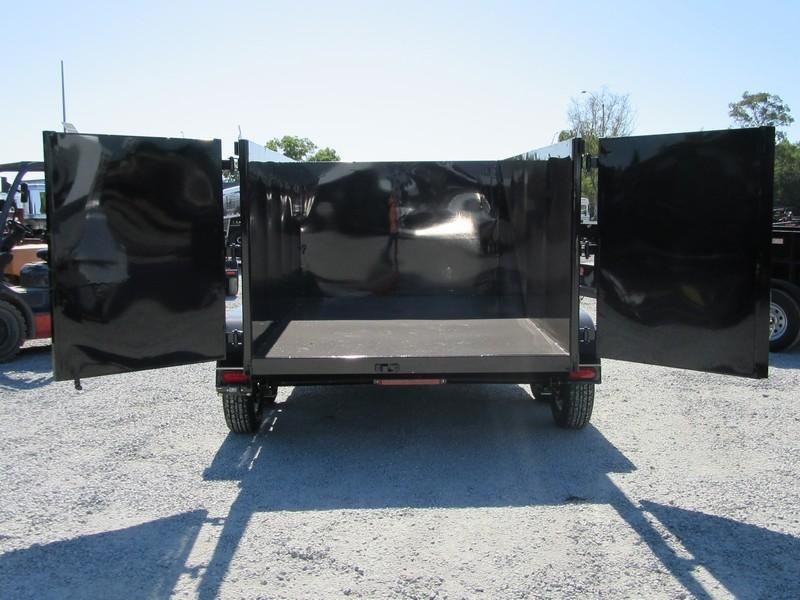 New 2018 Five Star DT257 6x10 7K GVW 4' Sides Dump Trailer Vin32675
