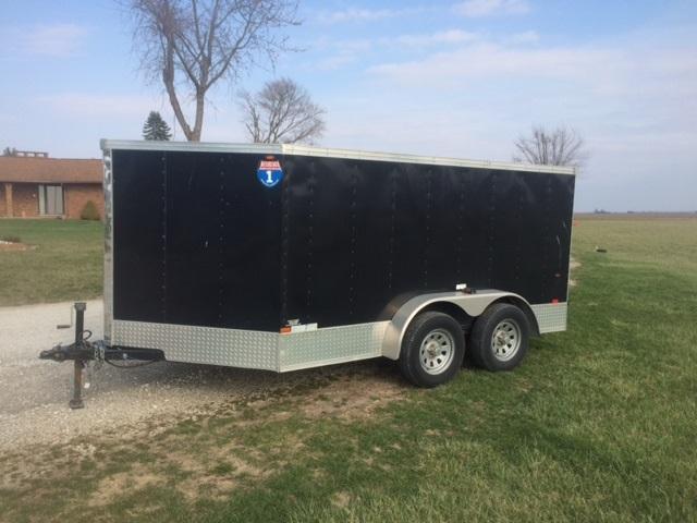 2009 Interstate Enclosed Cargo Trailer