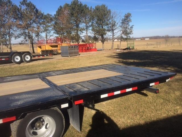 2018 Trailerman Trailers Inc. Hired Hand Hydraulic Dove