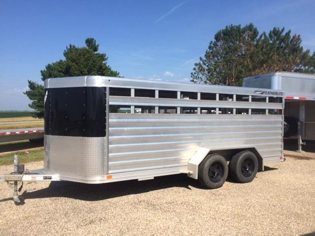 2013 Featherlite Livestock Trailer
