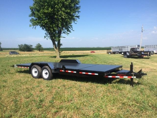 2017 Imperial 20' Splitfloor Wideboy Equipment Trailer