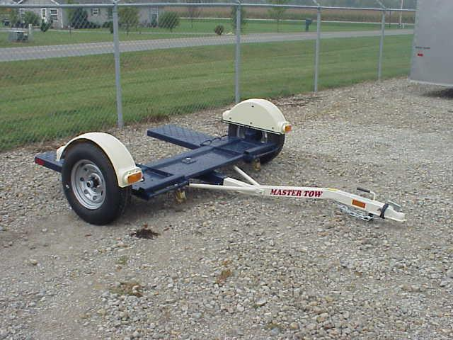 Master Tow - 77T Tow Dolly - Wheel Bonnet - Radial Tires