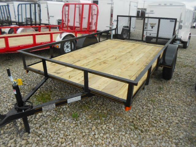6x12 Utility Trailer w/ Rear Gate- 2