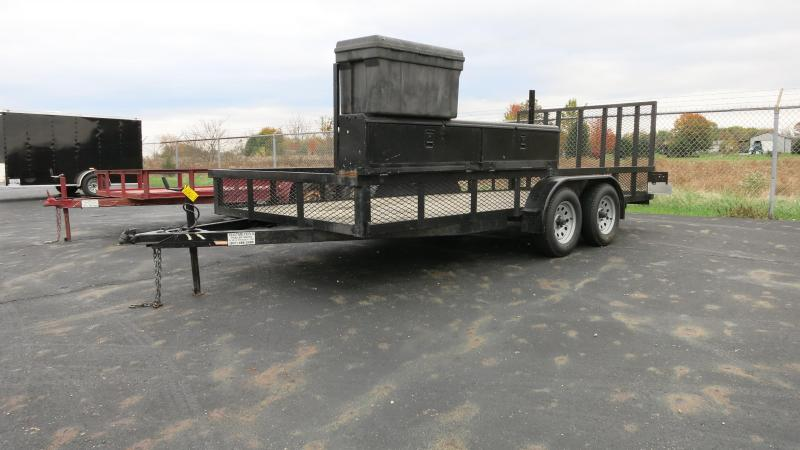 Used 7X16 Utility Trailer