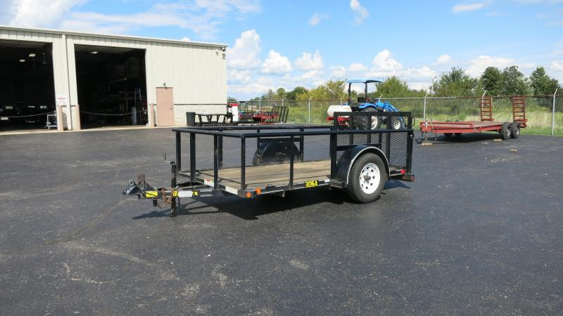 Used 5x10 Single Axle Utility w/ high sides