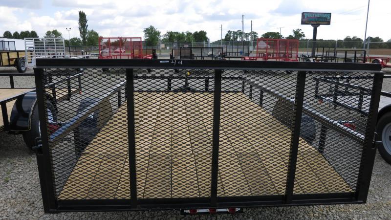 American Manufacturing 7x12 Utility Trailer w/ gate