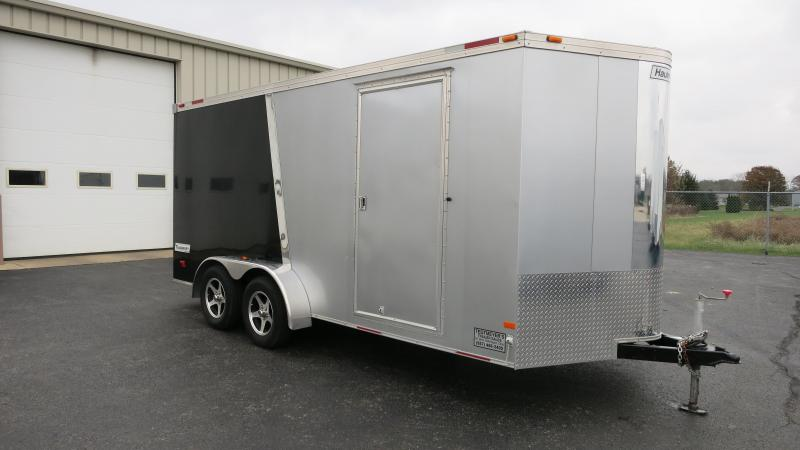 Used Haulmark 7x16 Enclosed Trailer