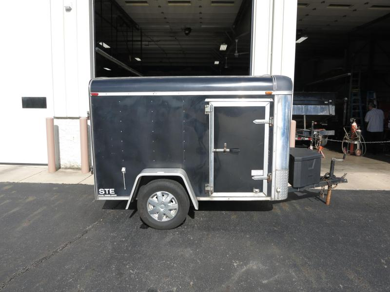 Used 5x8 Enclosed Trailers w/ Double Doors