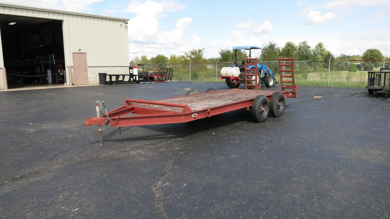 Used 7X16 Flatbed Trailer