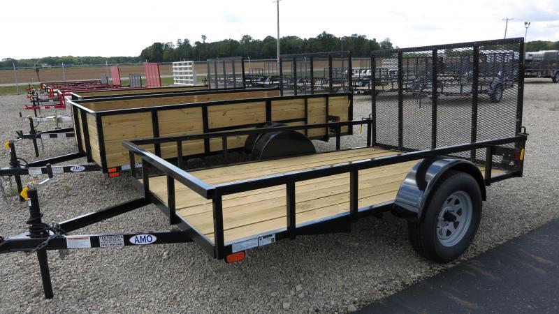 American Manufacturing 6x12 Utility Trailer w/ gate