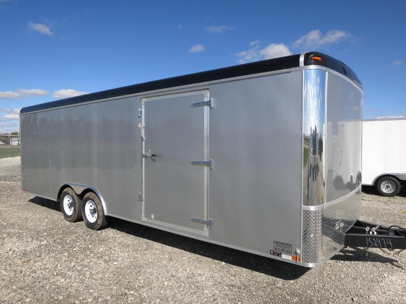 United Trailers 8.5 x 24 ULT Enclosed Trailer w/ Ramp Door  - Car Trailer