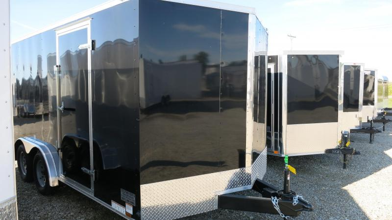 Continental Cargo Trailers 8X16 Enclosed Trailer W/ Ramp Door