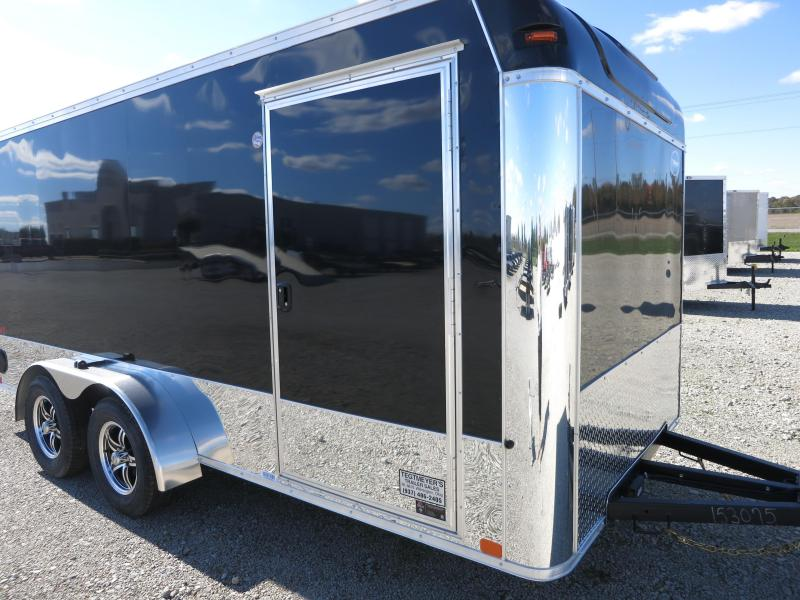 United Trailers 7x16 Motorcycle Trailer w/ Ramp Door - XLMT