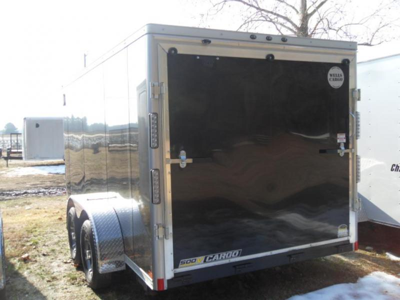 2019 Wells Cargo WCVG714T Enclosed Cargo Trailer